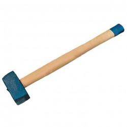 Кувалда 6кг с деревянной ручкой /кованая/ Сибртех 10933