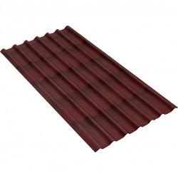 Черепица Ондулин цвет красный 1950мм х 960 мм