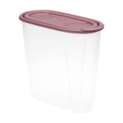 Емкость для сыпучих продуктов 1,5л ИДЕЯ ягодный М1221