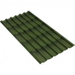 Черепица Ондулин цвет зеленый 1950мм х 960 мм