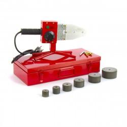 Аппарат для сварки пластиковых труб КW 800, 800 Вт, 300 °C, 20-25-32-40-50-63 мм, металлический кейс