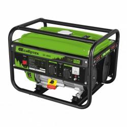 Генератор бензиновый БС-2800, 2,5 кВт, 230В, 4-х такт., 15 л, ручной стартер Сибртех