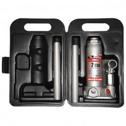 Домкрат гидравлический бутылочный  2т в кейсе h181-345мм Matrix 50750