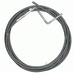 Трос для прочистки канализационных труб 9 мм х 5 м, MP-У