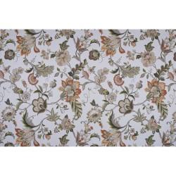 Портьера Цветы 73300671 1,8х2,6м портьерная ткань печать разноцветный