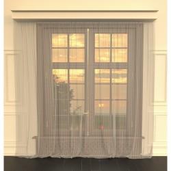 Тюль 73401118 3,0х2,6м вуаль полосы серый