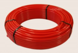 Труба PERT красная для теплого пола 20х2,0 (100м)