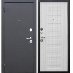 Дверь входная Гарда Муар 8Мм Белый Ясень (860Мм) Левая 2050х860 левая,