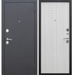 Дверь входная Гарда Муар 8Мм Белый Ясень (860Мм) Правая 2050х860 правая,