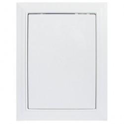 Люк-дверца 300*500мм фланец, пластик, рамка 318*518мм, нажимной, Л3050, ERA