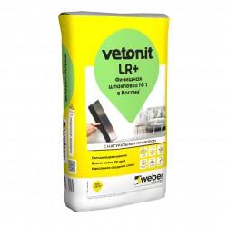 Шпаклевка полимерная белая Weber.vetonit LR+, 20 кг