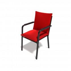 Комплект мягких подушек 2шт цвет красный К12.00.00.МЭ