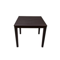 Стол квадратный Прованс, цвет шоколад
