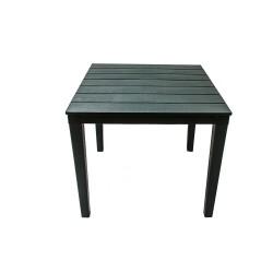 Стол квадратный Прованс, цвет темно-зеленый