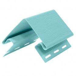 Угол внешний для сайдинга FineBer, цвет серо-голубой, 3.05 м