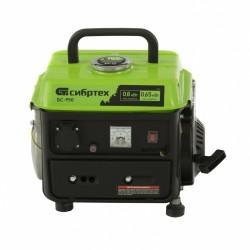 Генератор бензиновый БС-950, 0,8 кВт, 230 В, 2-х такт., 4 л, ручной стартер// Сибртех