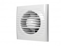 Вентилятор вытяжной осевой накладной 100мм OPTIMA 4 белый, AURAMAX