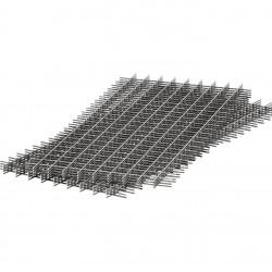 Сетка сварная кладочная в картах ,d 3 мм, размер ячейки 50х50 мм, размер сетки 0,5 х 2 м (1м2)