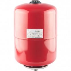 Расширительный бак для отопления 18л STOUT красный