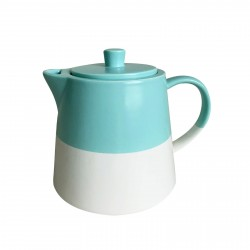 "Чайник 15,5х11,5х12,5см ""Blue sky"" керамика W1908-1"