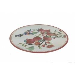 """Тарелка 26см """"Гранаты"""" керамика GR19154-26"""