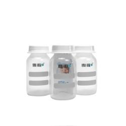 "Набор детский ""Бутылочки-контейнер для молока"" 125мл 3шт Apollo пластик КК1060"