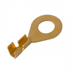 Наконечник кольцевой неизолированный (НК 6-0.5-0.8) 0.5-0.8мм2/6.2мм (100шт), REXANT 08-0074