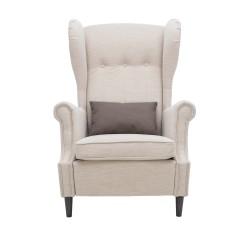Кресло классическое Leset Монтего 107х81см ткань бежевый