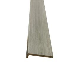 Наличник плоский,3D покрытие 2150х70х8мм,светло-серый