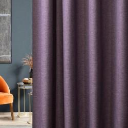 Портьера Пикамо 1,8*2,7м С 537827 V18 сирень шторная лента