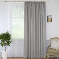 Портьера Пикамо 1,6*2,7м С 537294 V92 серый шторная лента