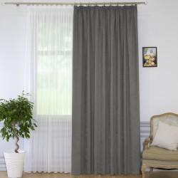 Портьера Пикамо 1,6*2,7м С 537294 VMD340 графит шторная лента