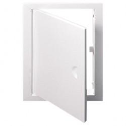 Люк-дверца 200*300мм фланец, металл, рамка 260*360мм, с ручкой, ЛТ2030М, ERA