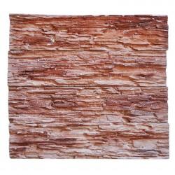 Камень интерьерный Сланец мелкослоистый коричневый мрамор