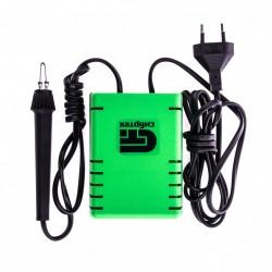 Электроприбор для выжигания 20Вт с подставкой и двумя проекциями, Сибртех 91305