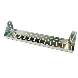 Полка металлическая ПУ-383-перфорированная 383х78