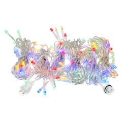 """Электрогирлянда-конструктор """"Бахрома"""" Vegas 24v/96 цветных led ламп/6 нитей/прозрачный провод 55093"""