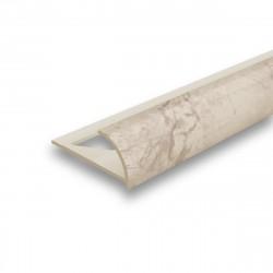 Угол наружный для плитки Идеал 8мм х 2,5м Мрамор 103