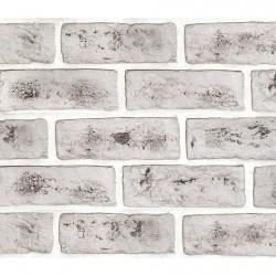 Камень интерьерный гипсовый Саман с вкраплениями 200*65 Серый 0221