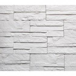 Камень интерьерный гипсовый Боро 200*95 Белый 01