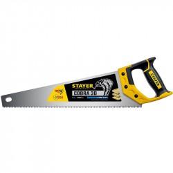 Ножовка по дереву 400мм двухкомпонентная ручка STAYER SUPER CUT 1512-40-1512-40_z01