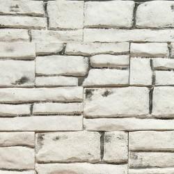 Камень интерьерный гипсовый Шато 150*70 Белый 0617