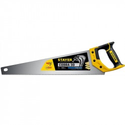 Ножовка по дереву 450мм двухкомпонентная ручка STAYER SUPER CUT 1512-45-1512-45_z01