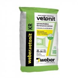 Шпатлевка органическая финишная Weber.Vetonit KR 20кг
