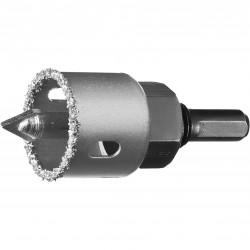 Коронка-чашка c карбид-вольфр. нанесением, 32 мм, высота 25 мм, Зубр 33360-032_z01