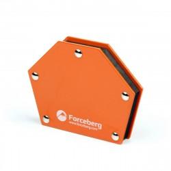 Магнитный угольник для сварки, 6 углов, усилие до 23 кг Forceberg 9-4014532