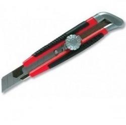 Нож 18мм с металической направляющей и винтом Matrix 78914