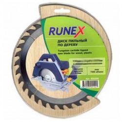 Диск пильный по дереву 160*24 зуб 20/16мм Runex 551004