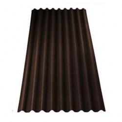 Ондулин SMART, цвет коричневый, 1950 х 950 мм