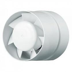 Вентилятор вытяжной осевой канальный 150мм 150 ВКО белый, Вентс